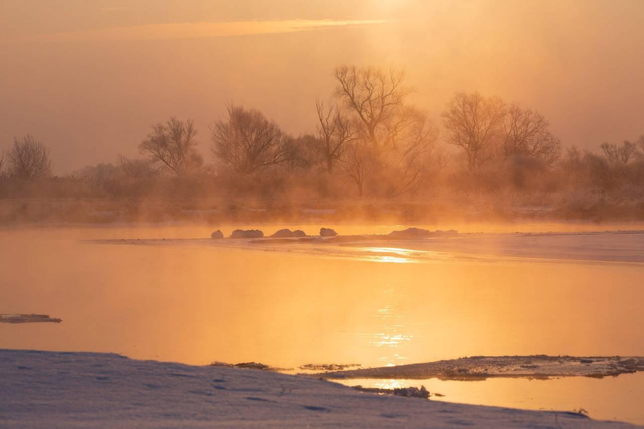 Wieprz zimą - Dariusz Malinowski